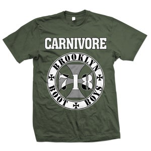 "Image of CARNIVORE ""Brooklyn Boot Boys"" T-Shirt"