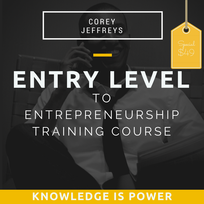Image of Entry Level to Entrepreneurship Training