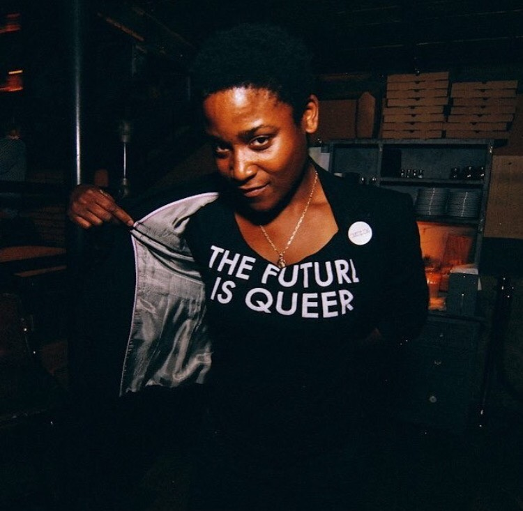 "Image of ""THE FUTURE IS QUEER""™ (black)"