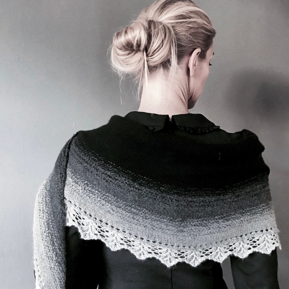 Image of Dip Dye Cashmere Sjal