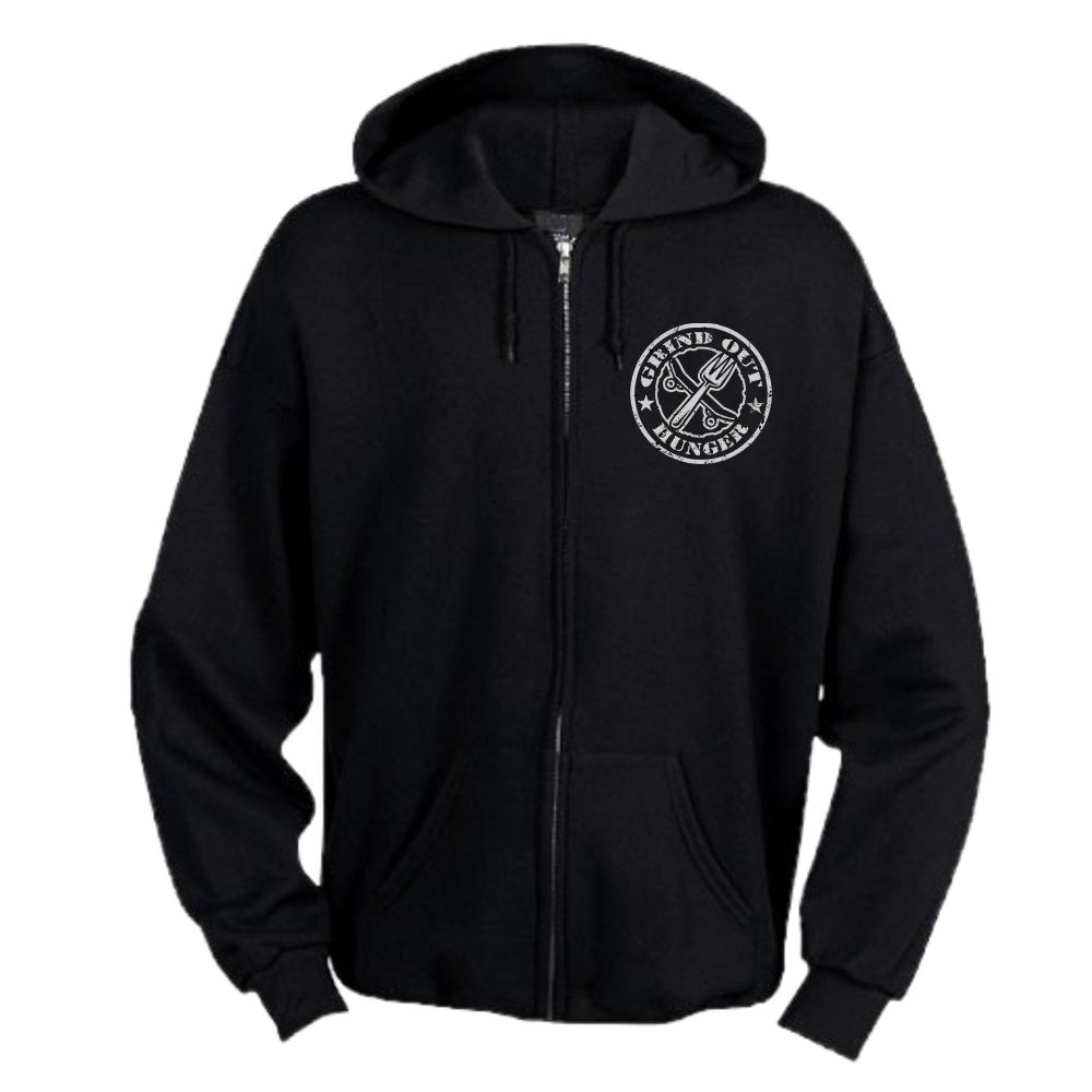 Image of Men's Grind Out Hunger Zip Hood
