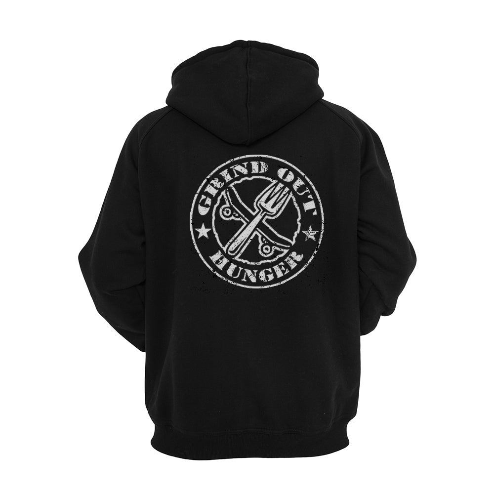 Image of Womens Grind Out Hunger Zip Hood