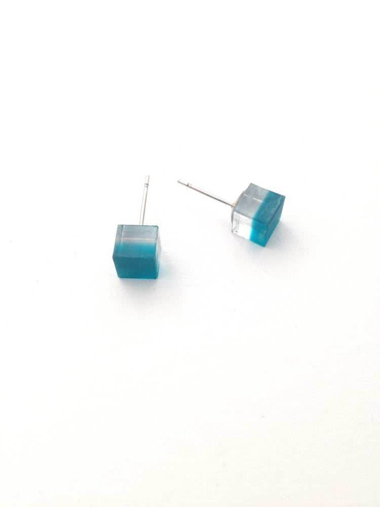 Image of Náušnice / Earrings Cubes