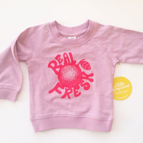 Image of Real Fresh Crewneck in Pink