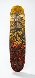 Image of kraken skateboard.