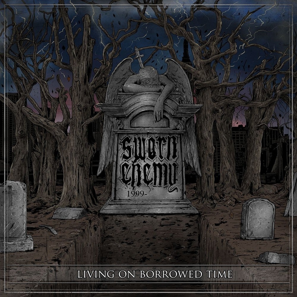 "Image of Sworn Enemy - Living On Borrowed Time 12"" Vinyl"