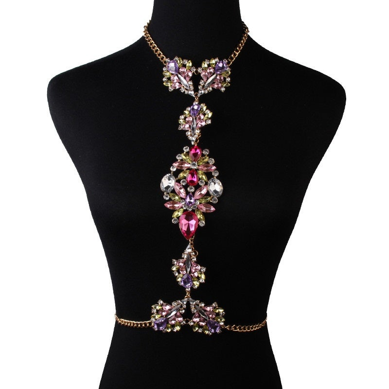 Image of Bloom Body Statement Necklace