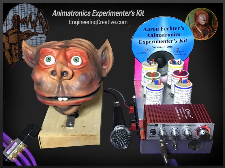 Image of The Animatronics Experimenters Kit