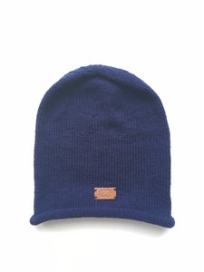 Image of Blue Knit Cap
