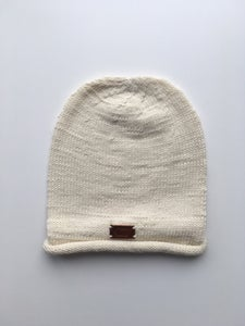 Image of Cream Knit Cap