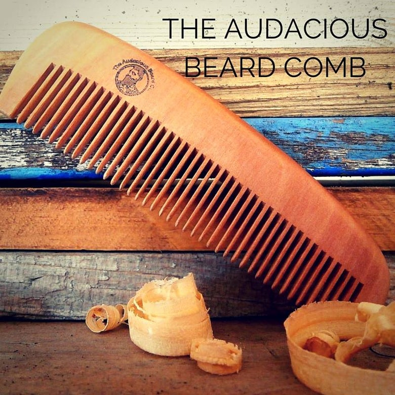 Image of The Audacious Beard Comb