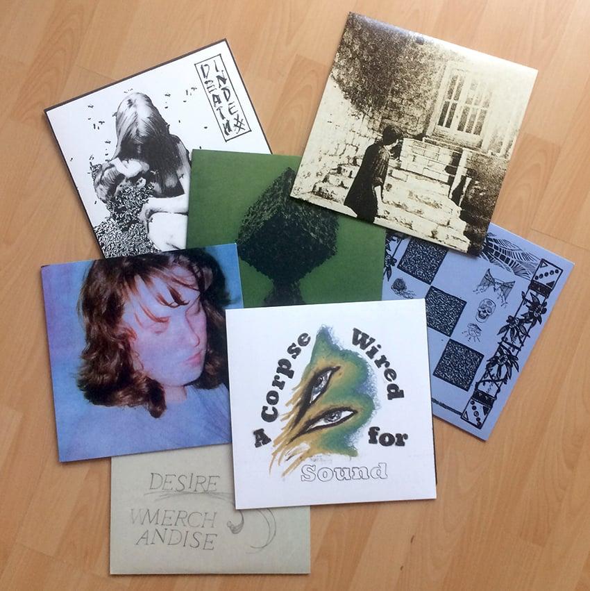 Image of wMERCHANDISE LPs etc...