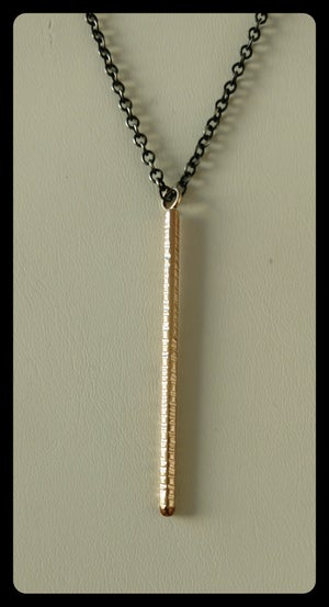 Image of single stick necklace