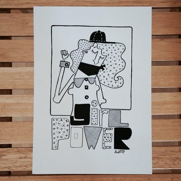 Image of GiRL PoWER (sérigraphie)