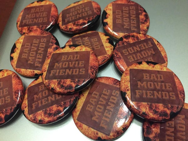 Image of Bad Movie Fiends Official Button