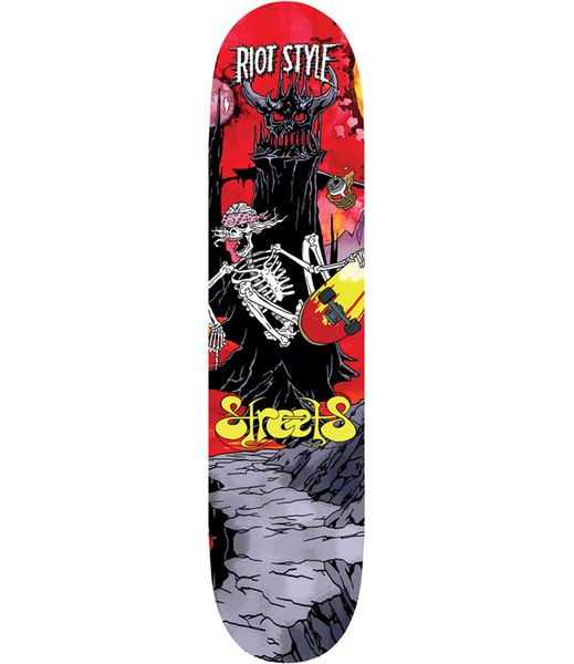 Image of S.T.R.E.E.T.S. - Invaders From Gnars Skate Deck