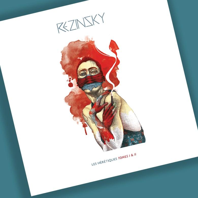 """Image of Double CD REZINSKY - """"Les Hérétiques"""" Tome 1 & 2"""