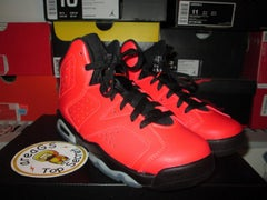 """Air Jordan VI (6) Retro """"Infrared23"""" GS *PRE-OWNED* - areaGS - KIDS SIZE ONLY"""