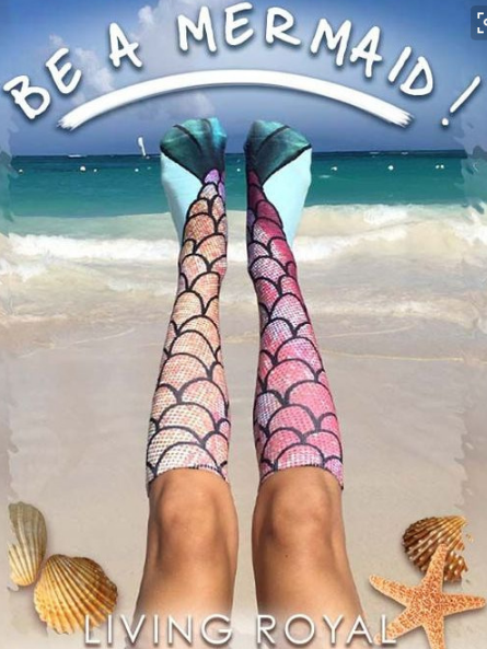 Image of Long socks Mermaid base socks