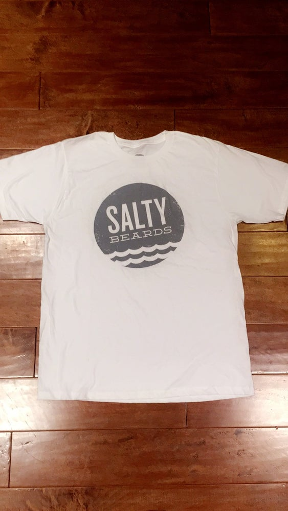 Image of Salty Heather & White Tee