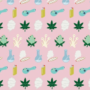 Image of Happy Bud & Friends / Wrapping Paper
