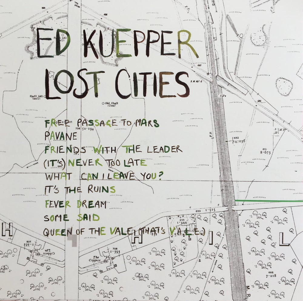 Image of LCMR-010 ED KUEPPER - LOST CITIES LP
