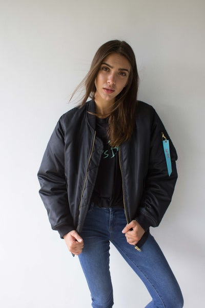 Image of Life's Blood Bomber Jacket