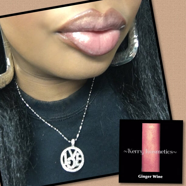 Image of Luscious Lipgloss -GINGER WINE