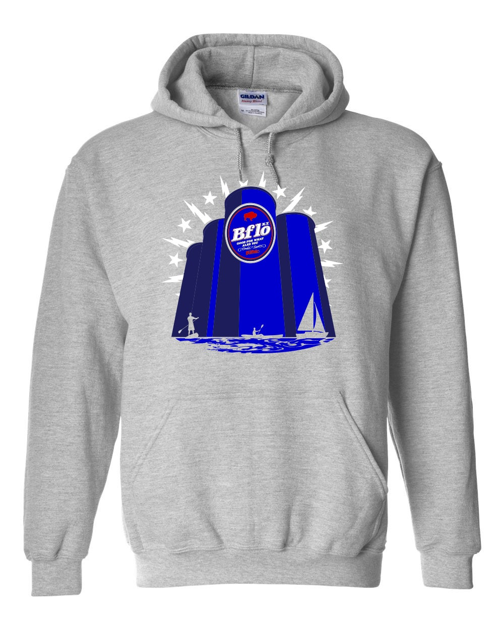 "Image of ""Bflo NY: Good For What Ales You"" Heavyweight Hoodie"