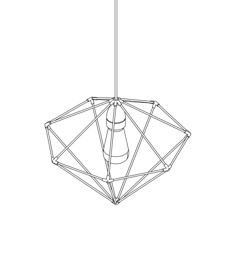 Image of WIREFRAME LAMP 01