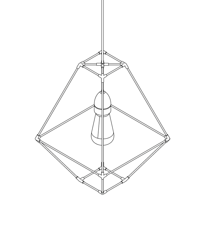Image of WIREFRAME LAMP 02