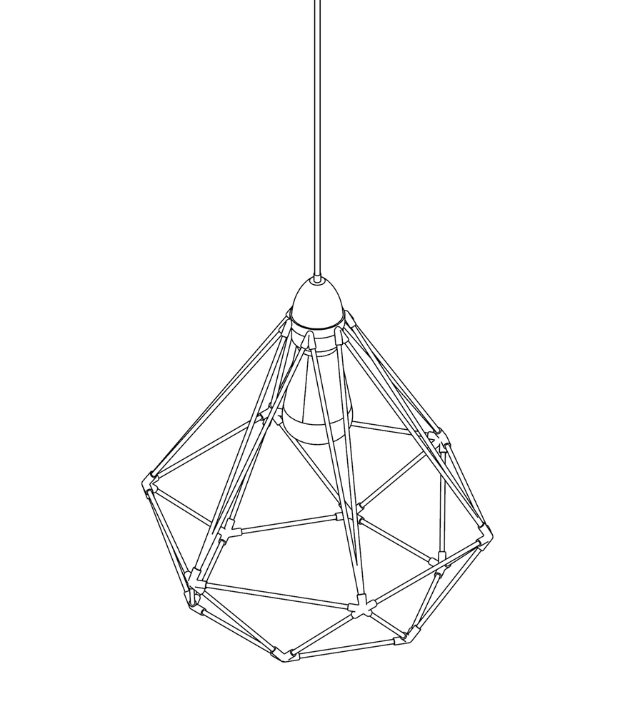 Image of WIREFRAME LAMP 03
