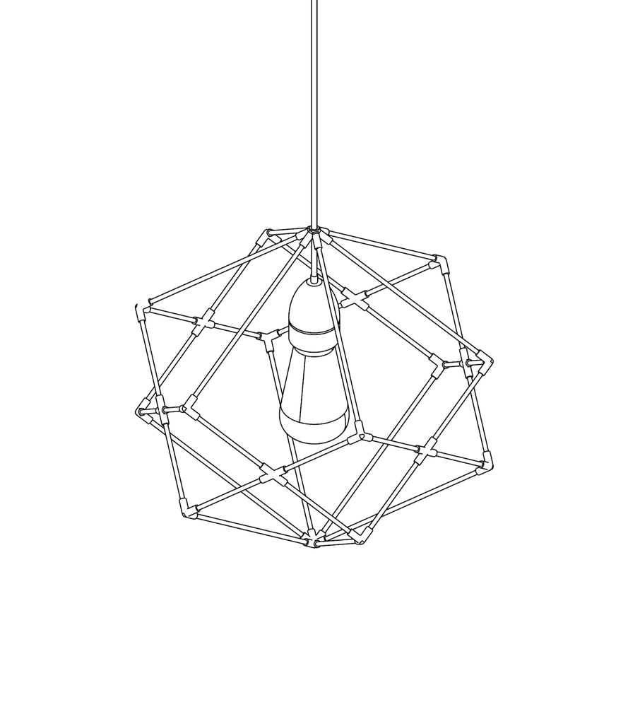 Image of WIREFRAME LAMP 04