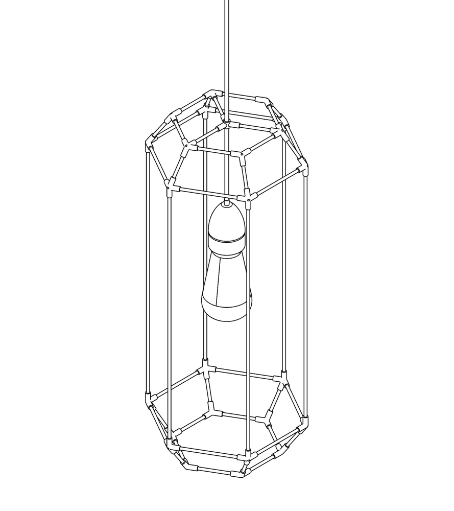 Image of WIREFRAME LAMP 05