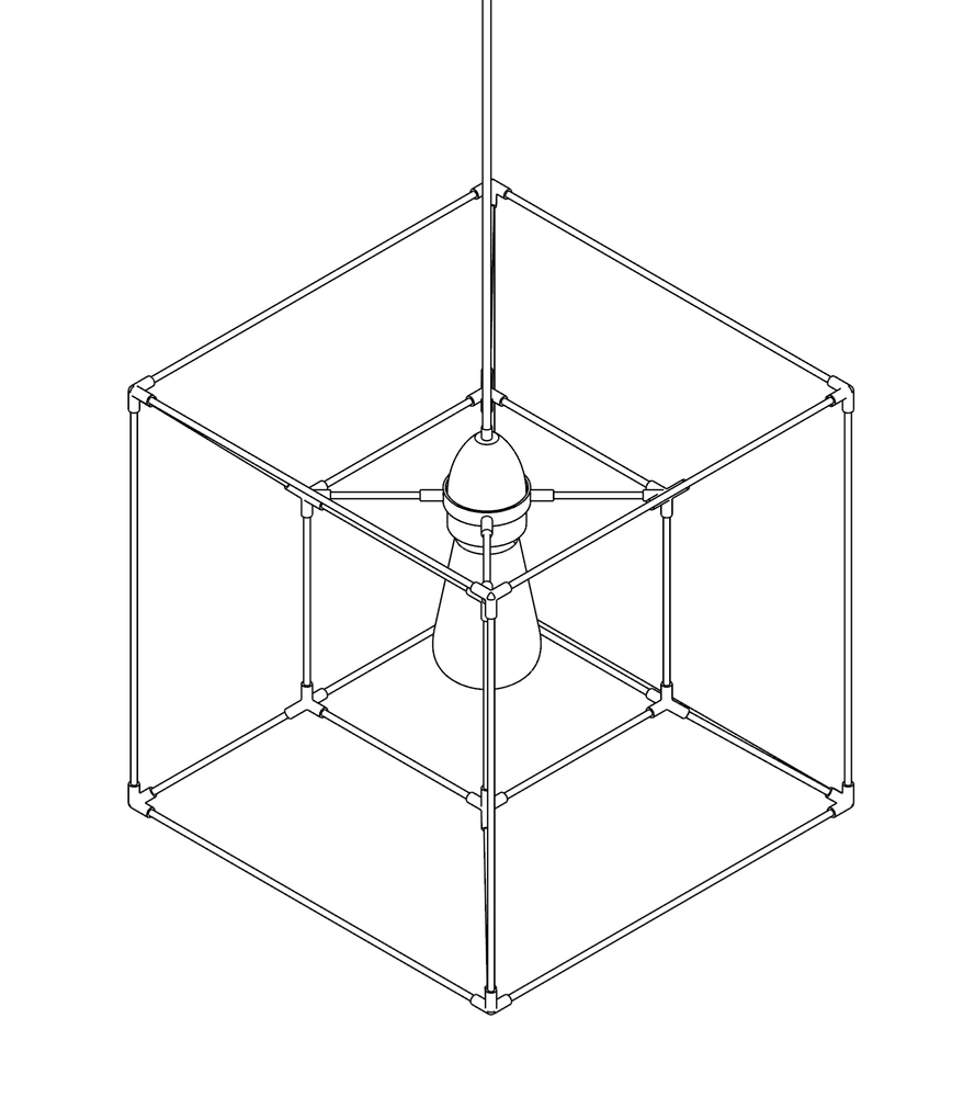 Image of WIREFRAME LAMP 07
