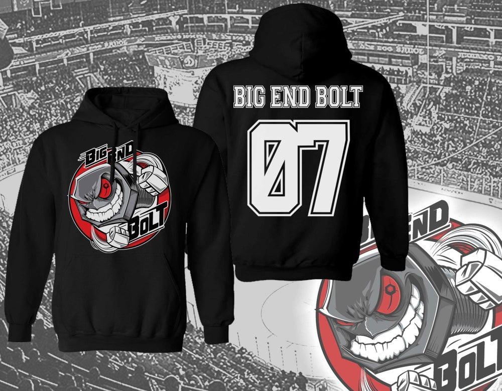 Image of BIG END BOLT - Hockey Hoodie