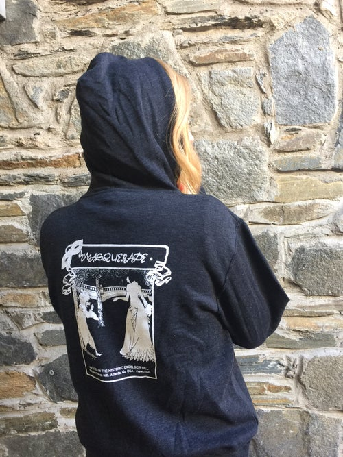 Image of Charcoal Zip Up Hoodie