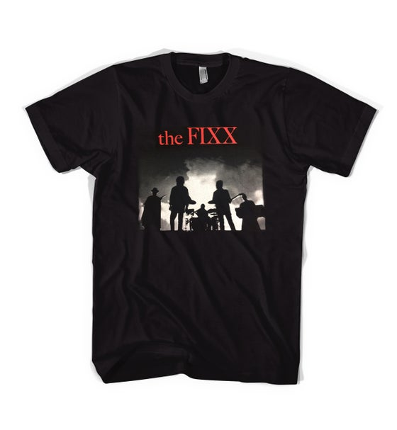 "Image of The Fixx - ""Red Skies"" Logo Tee"