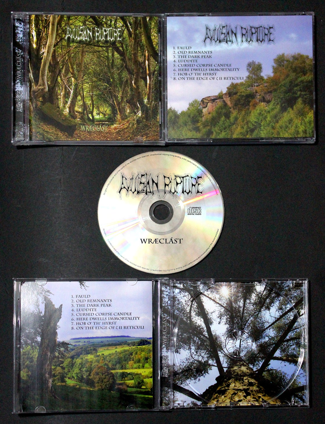 Image of Wræclást CD