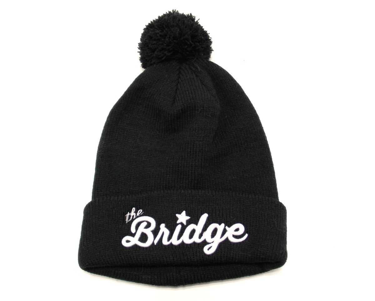 Image of The Bridge Ski Hat - BLACK