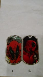 Image of Deadpool Dogtags