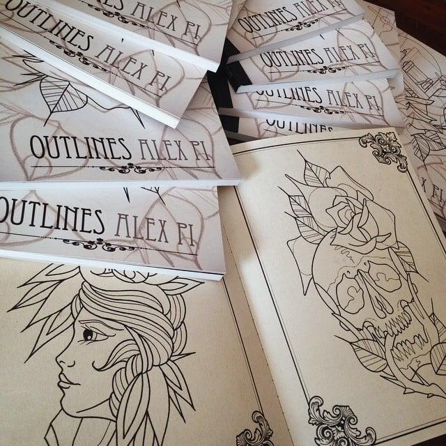 Image of Alex Pi OUTLINES BOOK
