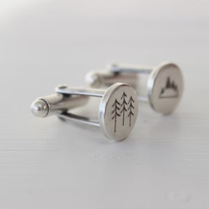 Image of Wilderness cufflinks