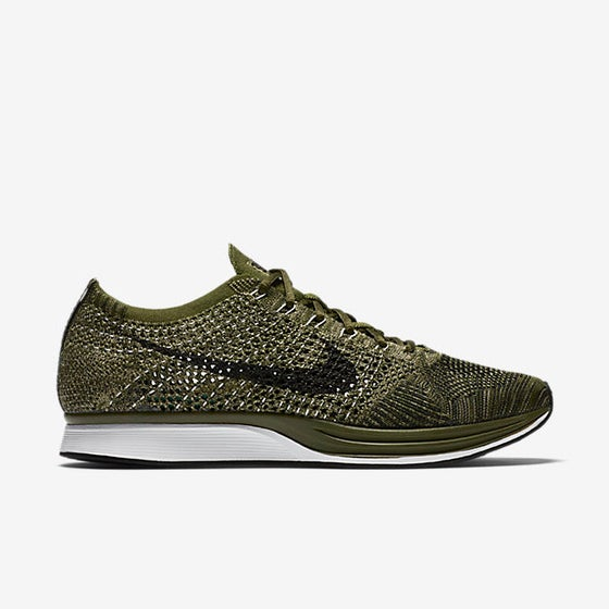 Image of Nike Flyknit Racer Olive