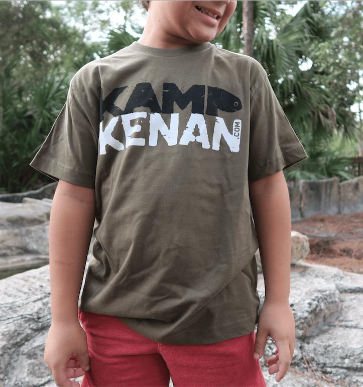 Image of Kamp Kenan - Youth Tee (Military Green)
