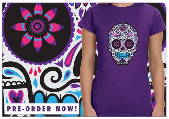 Image of Sugar Skull MZ T-Shirt (Women's & Unisex Shirts)