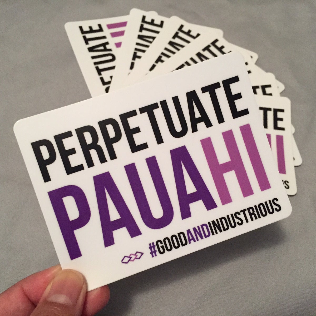 Image of Perpetuate Pauahi Sticker