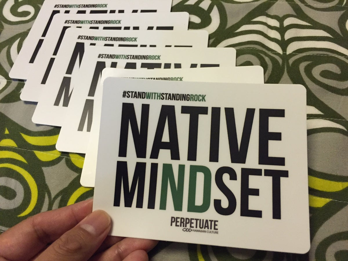 Image of Native Mindset Sticker
