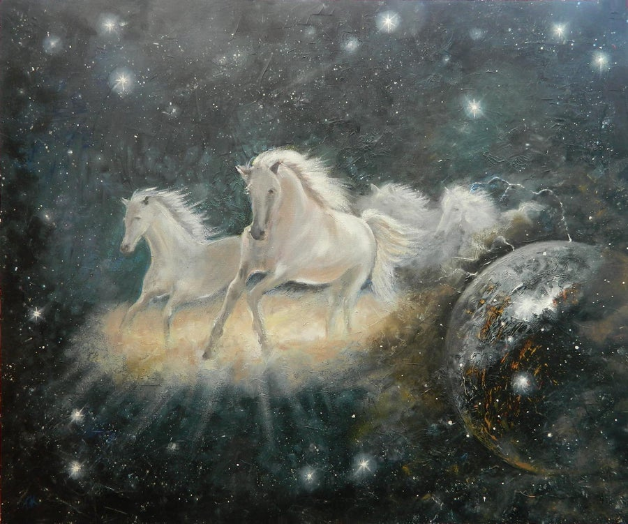 "Image of Ciellos Cabbalos ""Horses of Heaven'"
