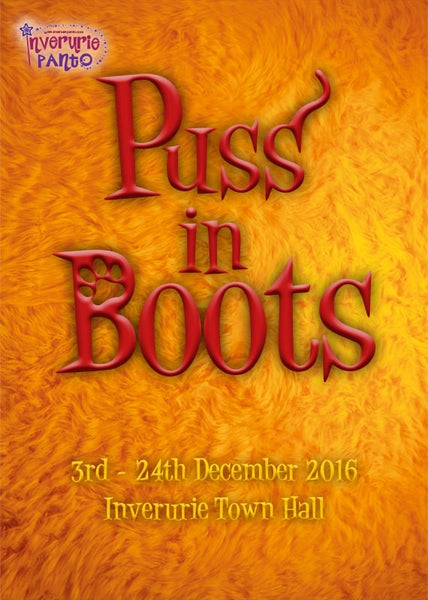 Image of Puss in Boots - Inverurie Panto 2016